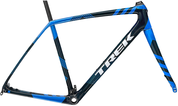 Trek Boone Disc Frameset Color: Carbon Blue Smoke/Metallic Blue