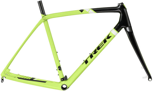Trek Boone Disc Frameset Color: Volt Green/Trek Black/Trek White