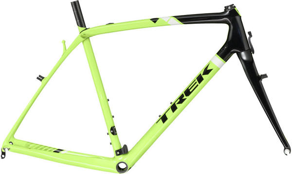 Trek Boone Frameset Color: Volt Green/Trek Black/Trek White
