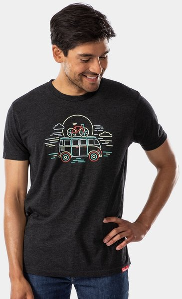 Trek Bus T-Shirt Color: Black