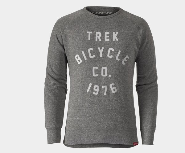 Trek Circle Crewneck Sweatshirt Color: Grey
