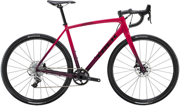 Trek Crockett 5 Disc Color: Magenta/Mulberry Fade
