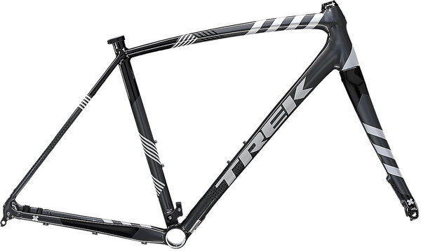 Trek Crockett Disc Frameset Color: Lithium Grey/Trek Black
