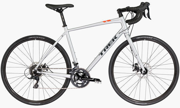 Trek CrossRip 1 Color: Quicksilver