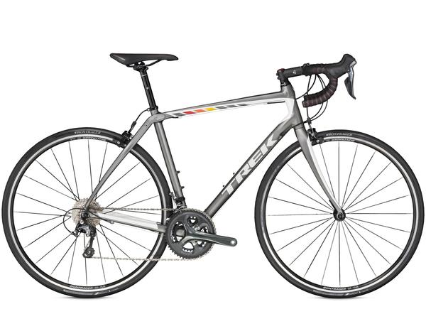 Trek Domane 2.0 C Color: Matte Trek Charcoal/Crystal White