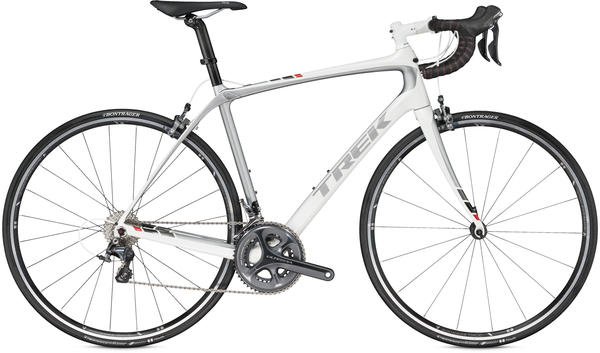 Trek Domane 5.2 C Color: Crystal White/Bright Silver