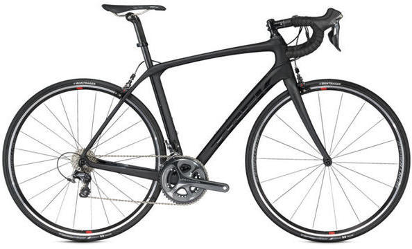 Trek Domane SLR 6 Color: Matte/Gloss Trek Black