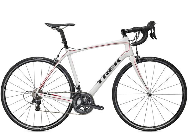 Trek Domane 6.2 C Color: Trek White/Viper Red