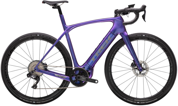 Trek Domane+ HP 7 Color: Gloss Purple Flip