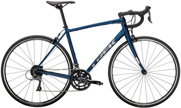 Trek Domane AL 2 Color: Gloss Mulsanne Blue/Matte Trek Black