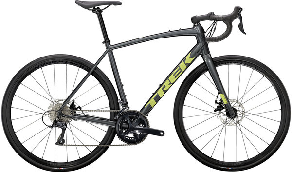 Trek Domane AL 3 Disc Color: Lithium Grey/Volt