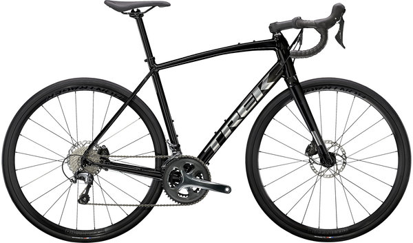 Trek Domane AL 4 Disc Color: Gloss Trek Black/Matte Trek Black
