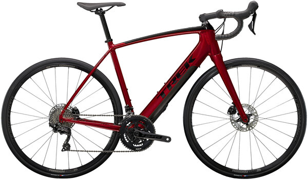 Trek Domane+ ALR Color: Crimson/Trek Black
