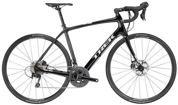 Trek Domane S 5 Disc Color: Trek Black/Dnister Black