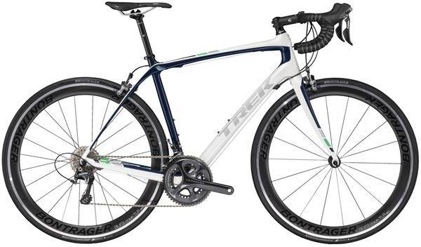 Trek Domane S 6 Color: Crystal White/Deep Dark Blue