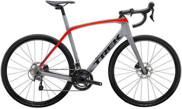 Trek Domane SL 4 Color: Slate/Radioactive Red