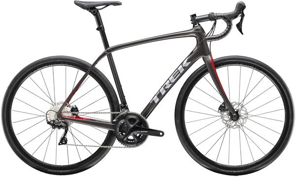 Trek Domane SL 5 Disc Color: Dnister Black/Viper Red