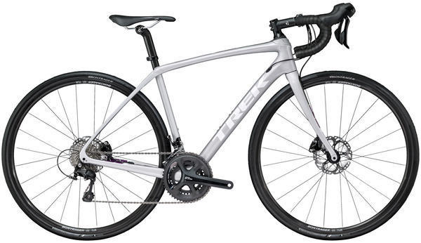 Trek Domane SL 5 Disc Women's Color: Quicksilver/Dnister Black