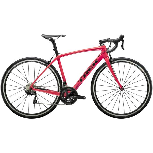 Trek Domane SL 5 Women's Color: Infrared/Dnister Black
