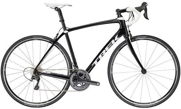 Trek Domane SL 6 Color: BlackPearl/Crystal White