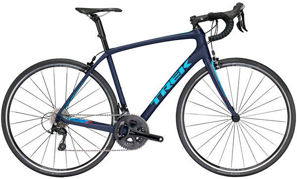 Trek Domane SL 5 Color: Matte Deep Dark Blue/California Sky Blue