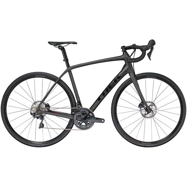 Trek Domane SL 6 Disc Color: Matte Dnister Black/Gloss Trek Black