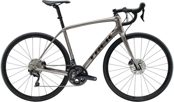 Trek Domane SL 6 Disc Color: Matte Gunmetal/Gloss Black