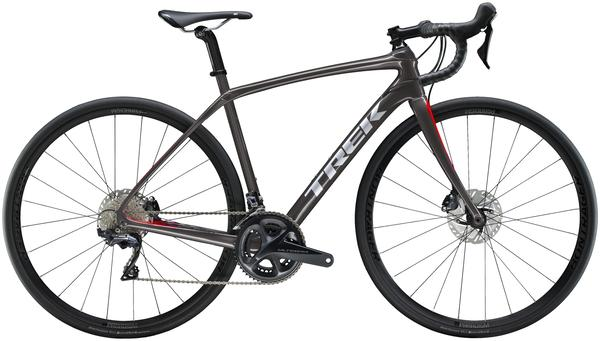 Trek Domane SL 6 Disc Women's Color: Dnister Black/Viper Red