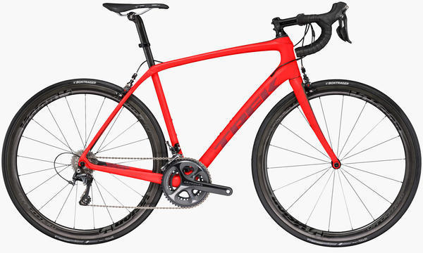 Trek Domane SL 6 Pro Color: Matte Viper Red/Pinot Red