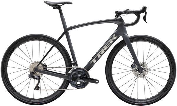 Trek Domane SL 7 Color: Matte Charcoal/Trek Black