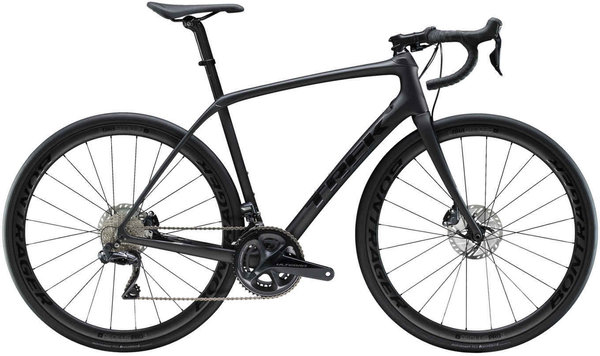 Trek Domane SL 7 Disc Color: Matte Dnister Black/Gloss Black