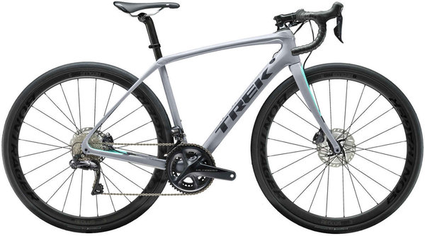 Trek Domane SL 7 Disc Women's Color: Gravel/Miami Green