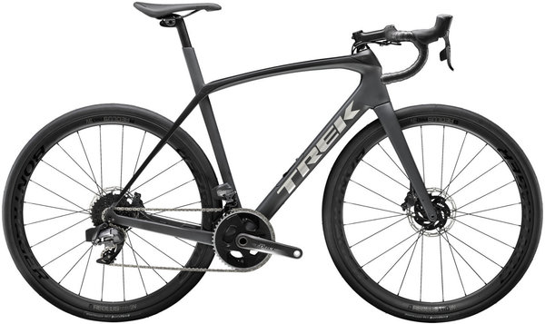 Trek Domane SL 7 eTap Color: Matte Charcoal/Trek Black