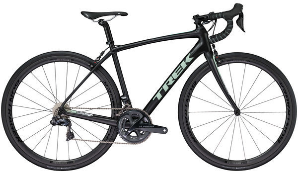 Trek Domane SL 7 Women's Color: Semigloss Trek Black/Sprintmint