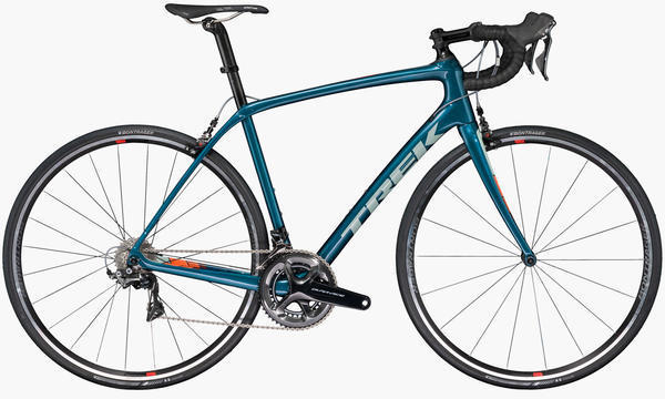 Trek Domane SL 8 Color: Dark Aquatic/Shady Grey