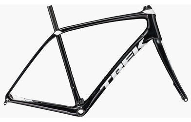 Trek Domane SL Disc Frameset Color: Black Pearl/Crystal White