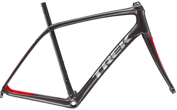 Trek Domane SL Frameset Color: Dnister Black/Viper Red