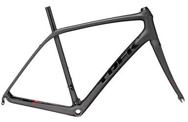 Trek Domane SL Frameset Color: Matte Dnister Black/Gloss Trek Black
