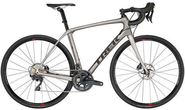 Trek Domane SLR 6 Disc Color: Matte Metallic Gunmental/Trek Black