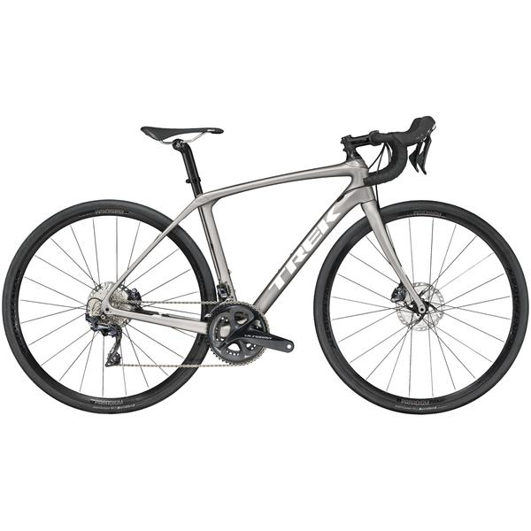 Trek Domane SLR 6 Disc Women's Color: Matte Metallic Gunmetal/Gloss Black