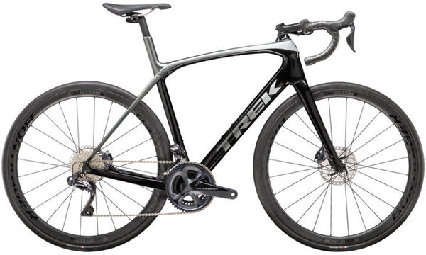 Trek Domane SLR 7 Color: Trek Black/Quicksilver-Anthracite Fade