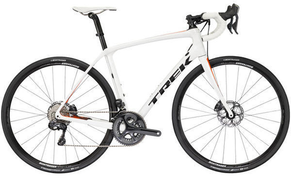 Trek Domane SLR 7 Disc Color: Semigloss Crystal White/Roaran
