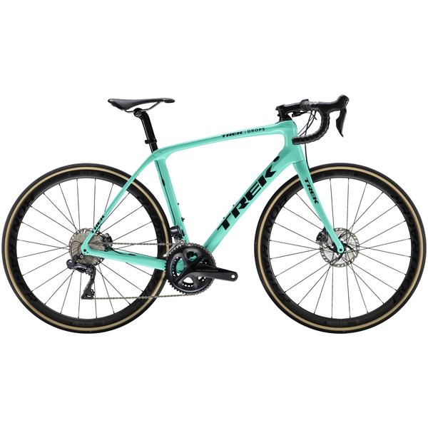 Trek Domane SLR 7 Disc Women's Color: Miami Green/Trek Black