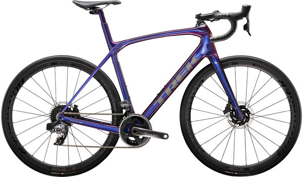 Trek Domane SLR 7 eTap Color: Purple Phaze/Anthracite