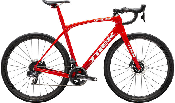 Trek Domane SLR 7 eTap Color: Viper Red/Trek White