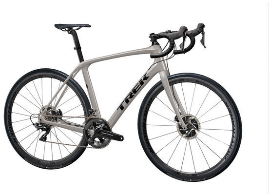 Trek Domane SLR 8 Disc Color: Matte Metallic Gunmental/Trek Black