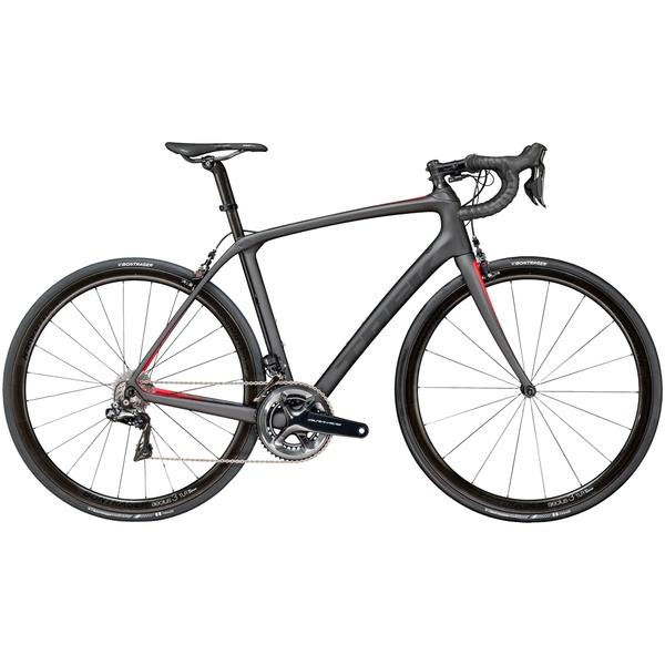 Trek Domane SLR 9 Color: Matte Dnister Black/Viper Red