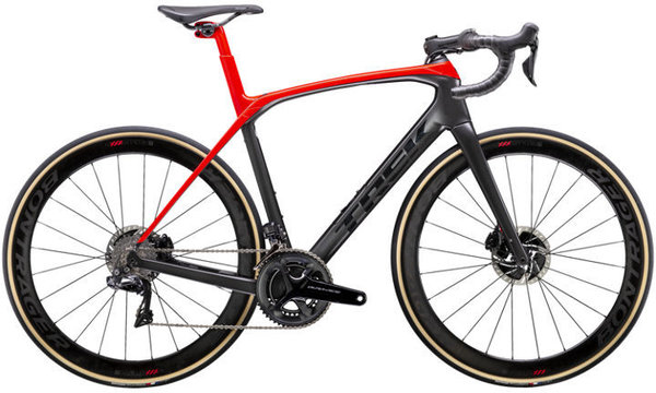Trek Domane SLR 9 Color: Matte Dnister Black/Gloss Viper Red
