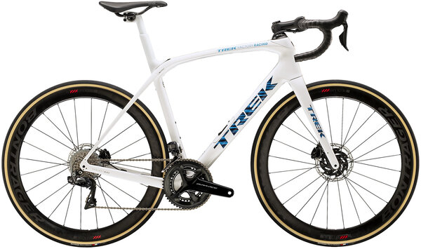 Trek Domane SLR 9 Color: Trek White/Blue