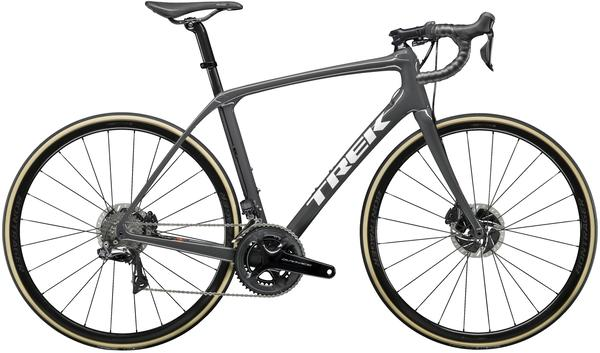 Trek Domane SLR 9 Disc Color: Solid Charcoal/Trek Black